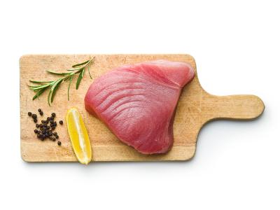 Atún fresco en ventresca