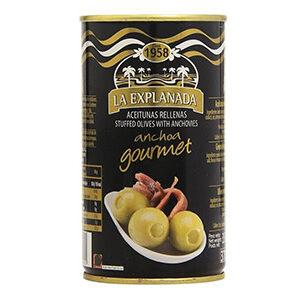 Aceitunas rellenas de anchoa LA EXPLANADA GOURMET