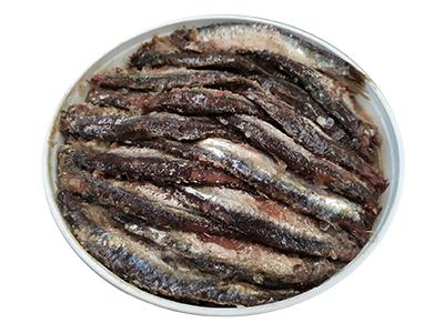 Anchoa del Cantábrico en sal