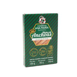 Anchoas en aceite Ana María Santoña