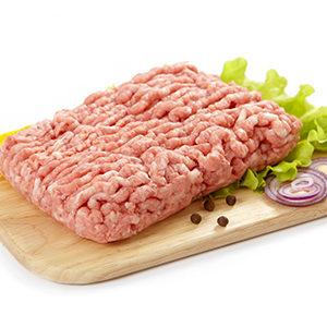 Carne picada de cerdo 100% natural