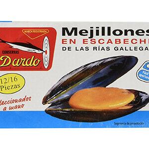 Mejillones en escabeche DARDO