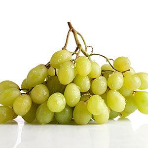 Uva blanca sin pepita