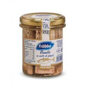 Bonito en aceite de girasol Frubbo