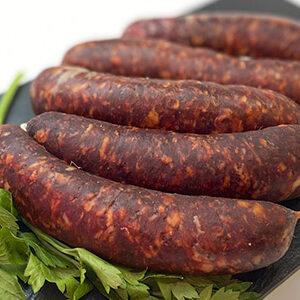 Chorizo rojo de ternera y cerdo