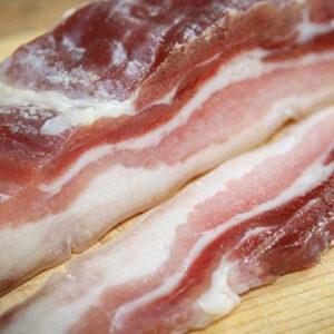 Bacon semi cocido